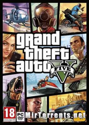 Grand Theft Auto V (GTA 5) (Rage MP) (2015) PC