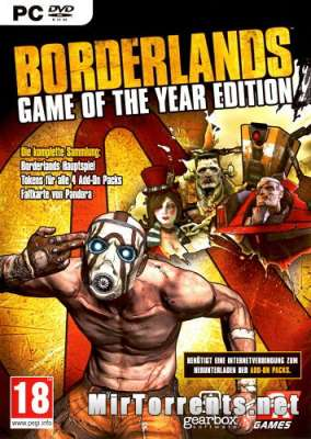 Borderlands Game of the Year Edition (2010) PC
