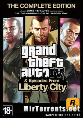 Grand Theft Auto IV Complete Edition / GTA 4 (2010) PC